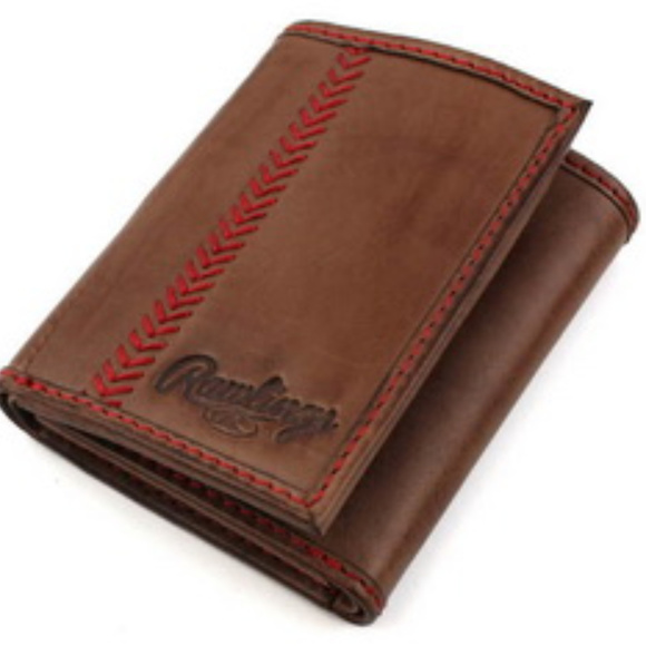 Rawlings Other - Vintage Rawlings Vintage Tri Fold Leather Wallet